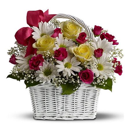 Корзина цветов. Цветы для корзины ...: www.salonzvetov.ru/basket_colour.html