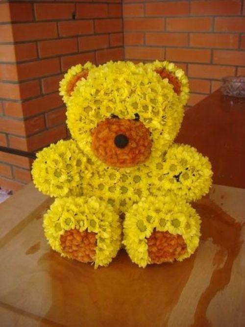 Цветок игрушка своими руками