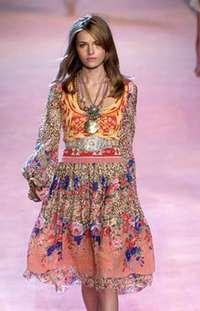 Цветы и мода